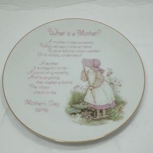 Porcelain Holly Hobbie Decorative Plate 1979